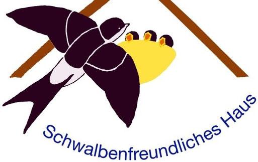 """NABU-Plakette """"Schwalbenfreundliches Haus"""""""