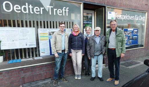 v.l. Pascal Strux, Maren Rose-Hessler, Jenny und Karl-Heinz Hengsten, Rolf Brandt