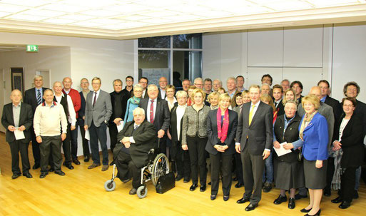 Neben dem NABU Grefrath freuten sich weitere 38 Vereine in diesem Jahr über eine finanzielle Unterstützung durch die Sparkasse Krefeld