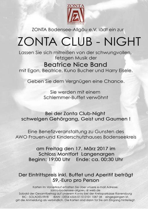 Zonta-Club-Night in Langenargen