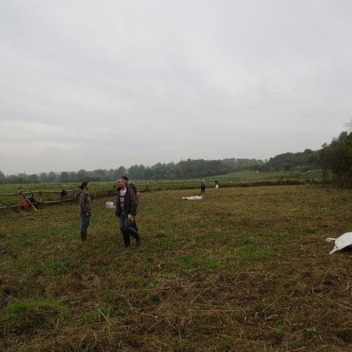 Nach ca. 3 Stunden war die Fläche gemäht und ist für´s nächste Vegetationsahr vorbereitet.