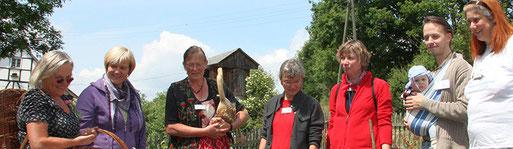 Die Bergische Gartenarche präsentiert ihren Garten im Freilichtmuseum