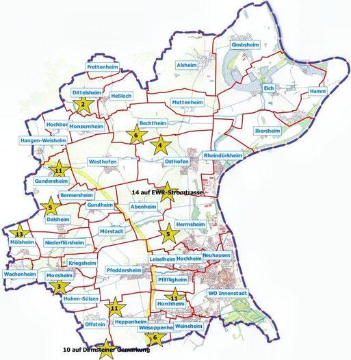 Übersicht Steinkauzröhren, Karte Udo, OSM