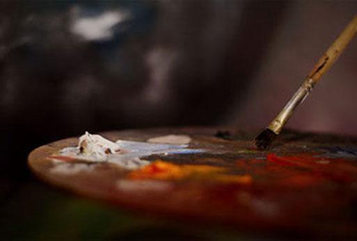 Porträtmalerei Farbpalette