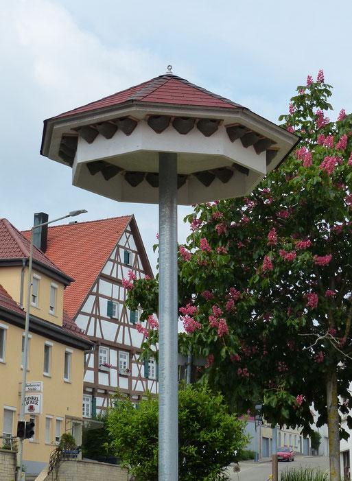 Schwalbenturm im Zentrum von Hohenstaufen | Bild: Dr. Wolfgang Rapp
