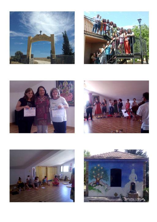 Retiro en Zamora, julio 2015 fotos del grupo