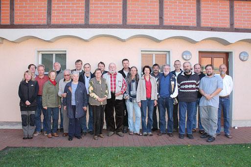 Teilnehmer der 50 Jahrfeier der Fachgruppe Ornithologie