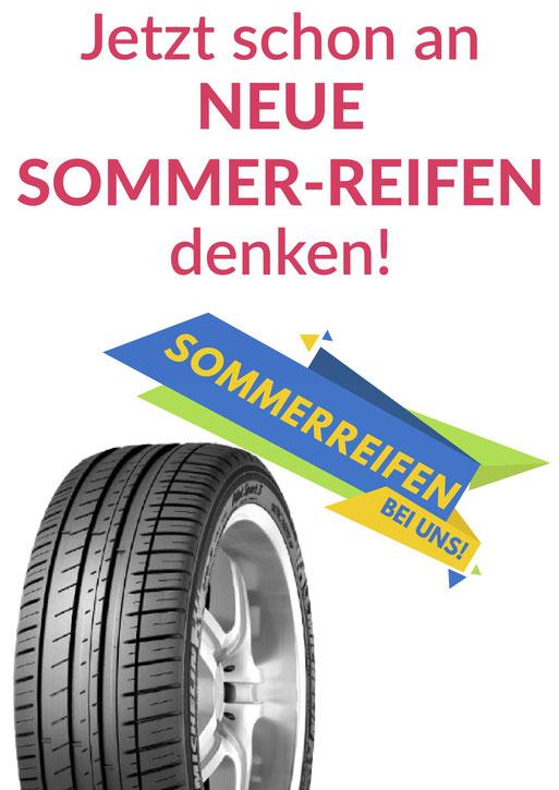 Reifen, Reifenaktion, Sommerreifen, Radwechsel