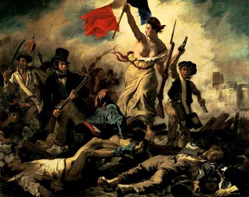 'Marianne' von Eugéne Delacroix