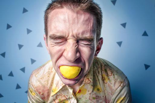 Die ersten drei Schritte gegen Stress. Aus Zitronen Limonade machen.