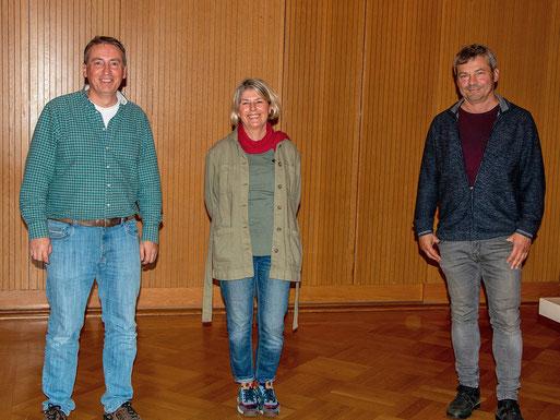 Vorstand NABU Bezirksverband (v.l.n.r. B. Budig, B.Jänicke, R.Klemm)