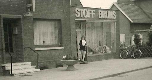 Stoff Bruns Anfang der 1970er Jahre.