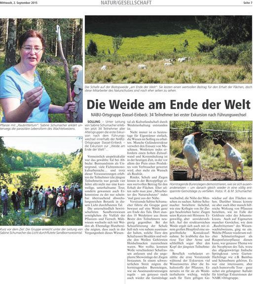 Die Eule, 02.09.2015