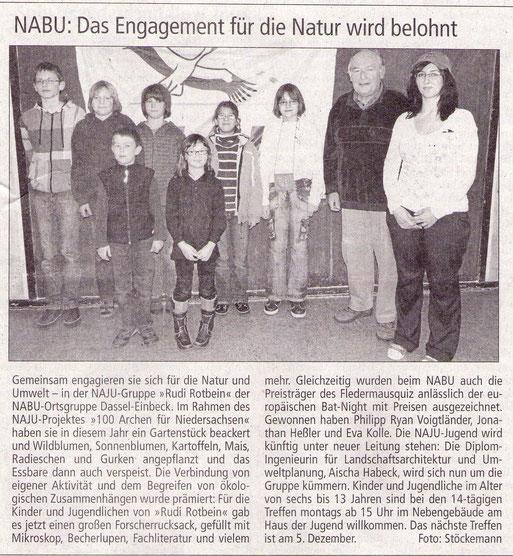 Einbecker Morgenpost, 28.11.2011