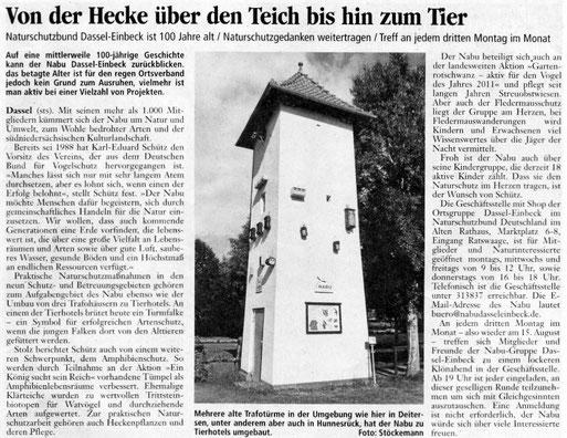 Einbecker Morgenpost, 13./14.08.2011