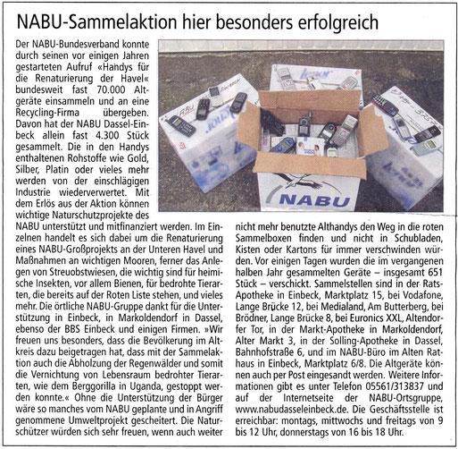 Einbecker Morgenpost, 20.04.2013