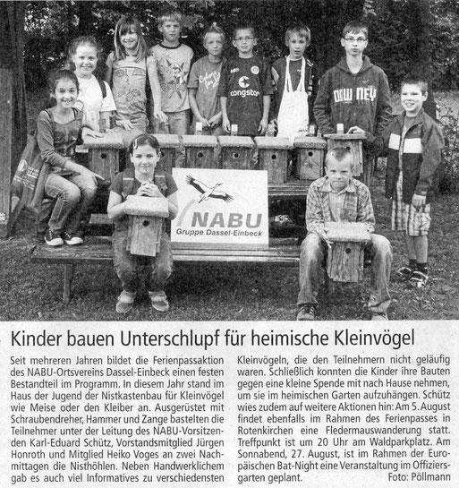 Einbecker Morgenpost, 28.07.2011