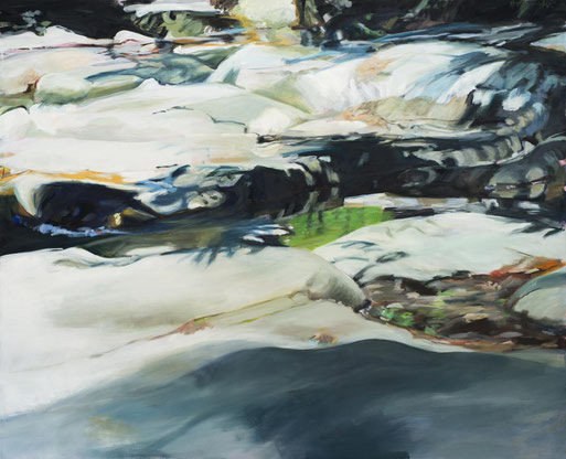Variation Schatten 2016 130 x 160 cm Öl / Leinwand