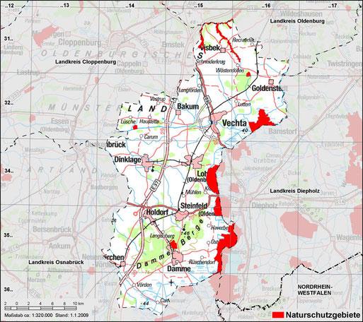 Naturschutzgebiete Im Landkreis Vechta Nabu Kreisgruppe Vechta