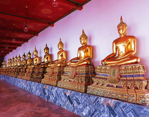 Tempel Wat Pho in Bankok