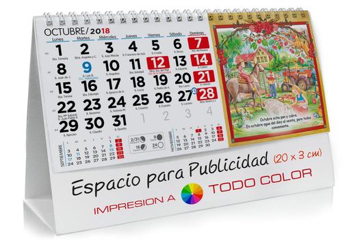 Calendario sobremesa de Refranes Campesinos