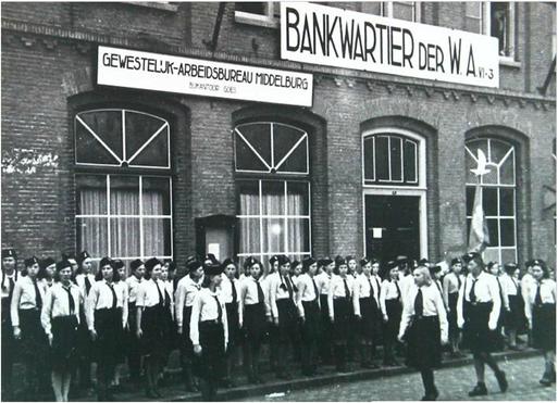 Bankwartier der WA in Goes