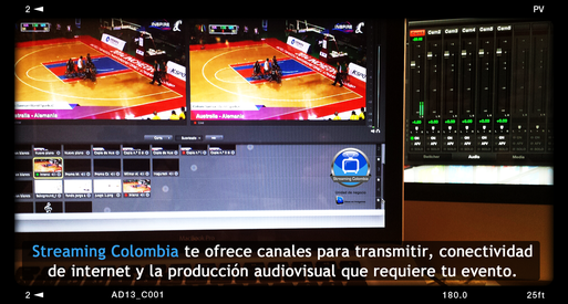 Visita la sección SOLUCIONES/Live Events de Streaming Colombia para más información de eventos en directo.