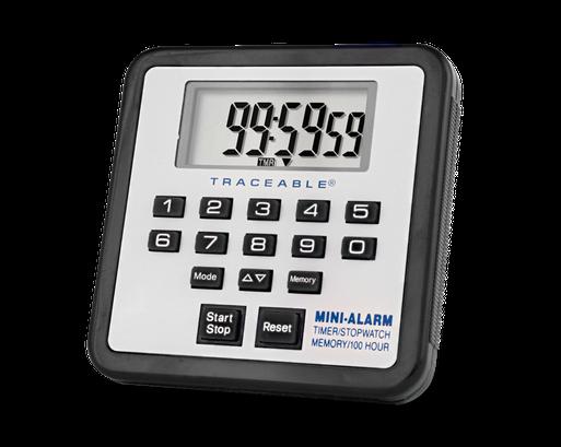 Timer contador de un canal con certificado trazable a NIST 5021