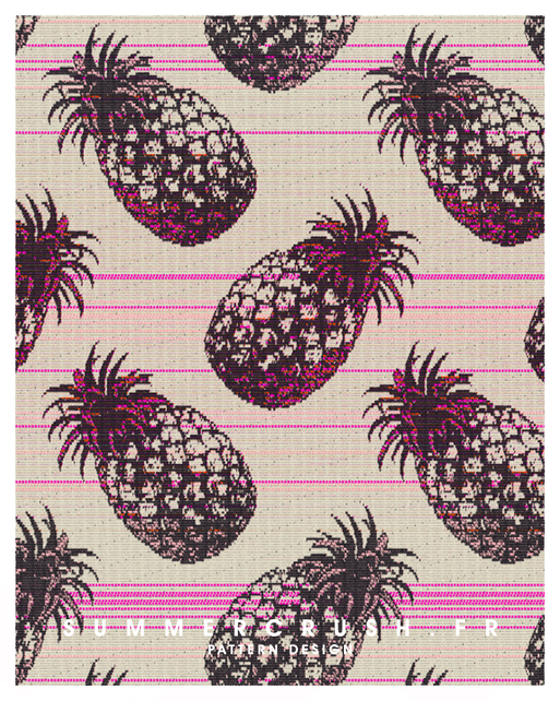 Pineapple jacquard • Summer 2014