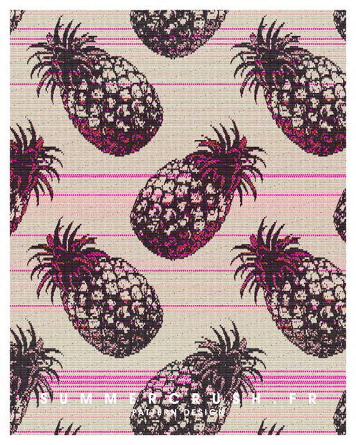 Pineapple jacquard • Summer 2014
