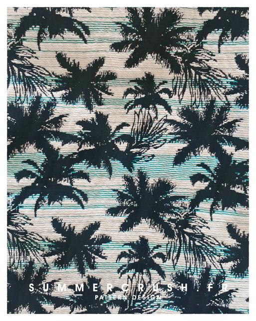 Palm tree jacquard • Summer 2014