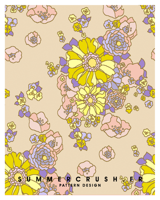 Vintage floral jacquard • Summer 2018