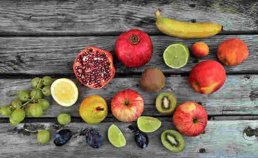 Obst für die Fastenkur - 2. Entlastungstag