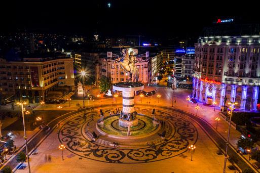 circuit voyage Albanie Macédoine du nord : la capitale macédonienne, Skopje