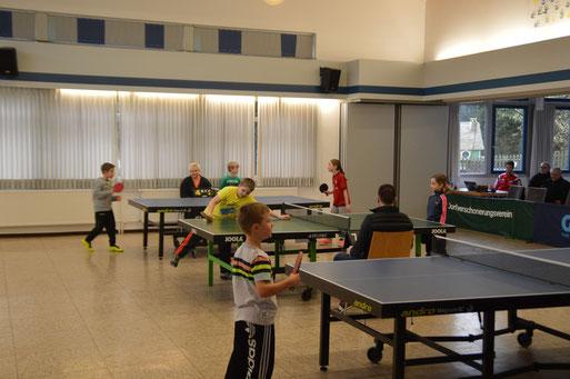 Unsere Kids bei ihrem Turnier