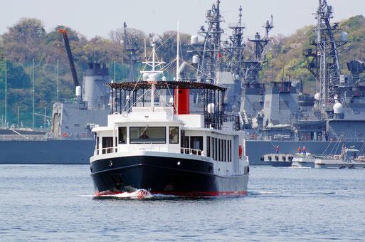 コラボ大宮・デートスポット神奈川「YOKOSUKA軍港めぐり」写真