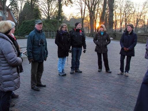 Die Morgensonne wärmte noch nicht..., Bericht und Fotos von Silke Lorenz