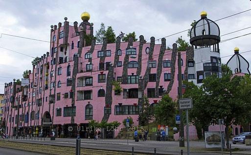 Grüne Zitadelle von Magdeburg