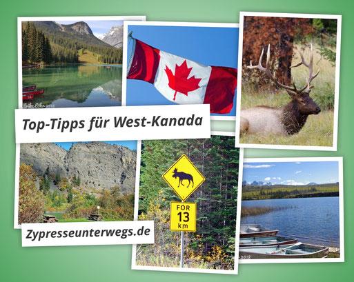Top-Tipps zu einer Reiseroute in West Kanada