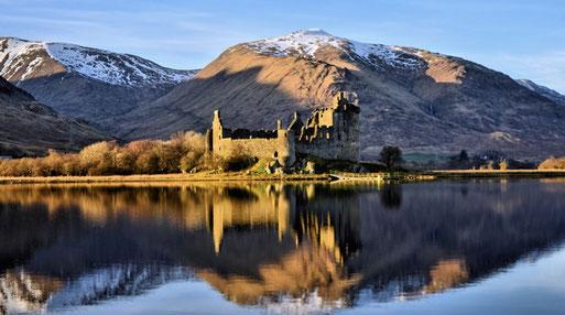 Loch Lomond, Highlander, Highland Saga Show, Scottish Music, Scotland, Schottische Musik, Dudelsack, Bagpipe, Music Show, Kilchurn Castle