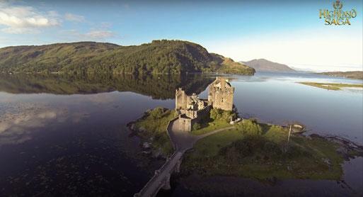 Highland Saga Film, Highlander mit Christopher Lambert und Sean, Eilean Donan Castle, Loch Lomond, Highlander, Highland Saga Show, Scottish Music, Scotland, Schottische Musik, Dudelsack, Bagpipe, Music Show,
