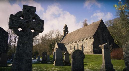 Highland Saga Film, Rob Roy Grave, Loch Lomond, Highlander, Highland Saga Show, Scottish Music, Scotland, Schottische Musik, Dudelsack, Bagpipe, Music Show, Rob Roy