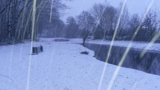 So sieht unser Stand im Winter aus