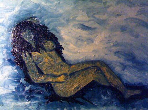 LEONA - 2009 olio su tela 35 x 45