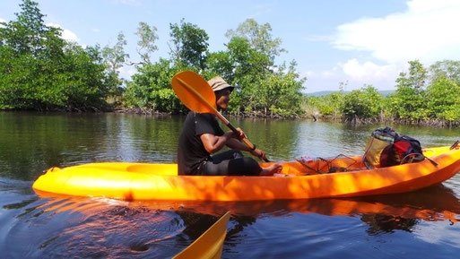 Guide in den Mangroven von Koh Kong