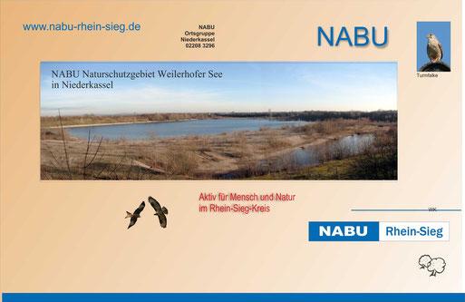 Der Weilerhofer See darf im Rahmen der Wanderung begangen werden.