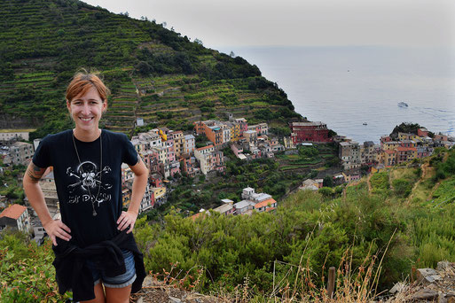 Cinque Terre, Manarola, Wanderung, Italien