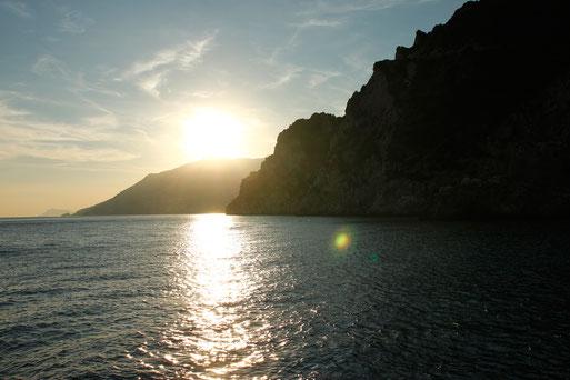 Amalfiküste im Herbst, Italienreise