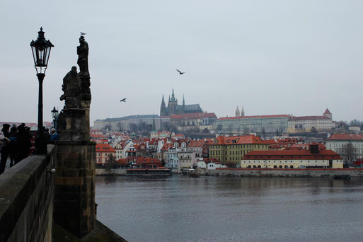The skyline of Prague, Rail Trip Eastern Europe