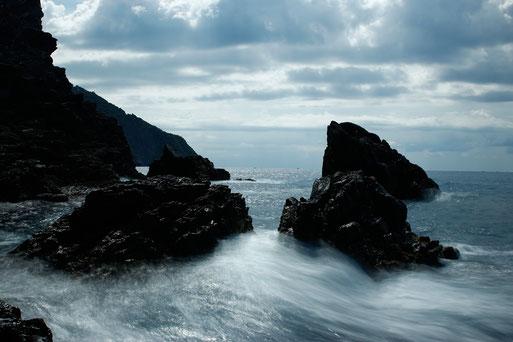 Felsen und Klippen in Cinque Terre, Nationalpark, Naturpark